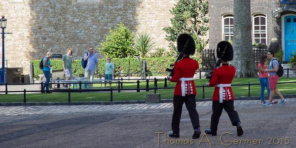Palace Guards at Tower of London