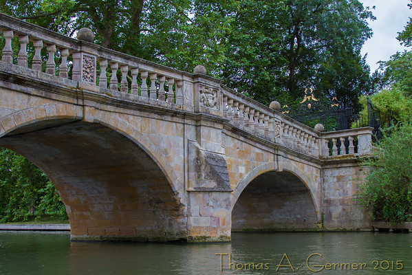 Bridge across River Cam