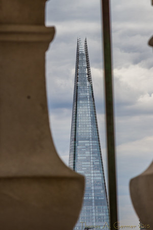 The Shard from St. Paul's