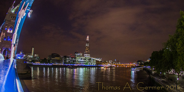 The Thames from Tower Bridge