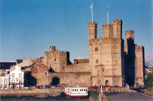 Castle Caernafon Wales - Jul 1996