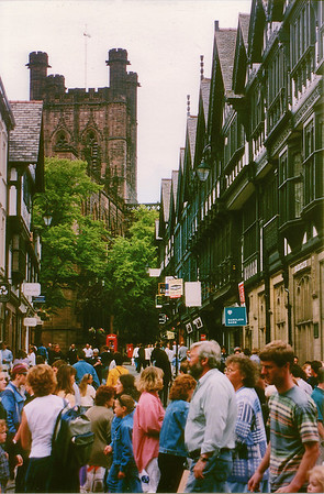 The Rows Chester England - Jul 1996