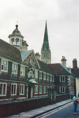 Matron's College The Close Salisbury England - Jul 1996
