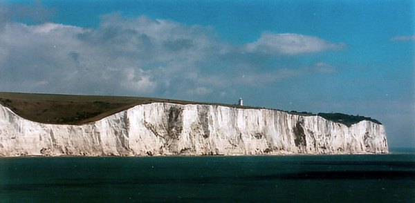 The white cliffs of Dover England - Jul 1996