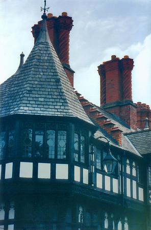 Spiral chimneys Chester England - Jul 1996