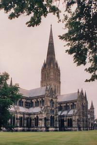 Cathedral Salisbury England - Jul 1996