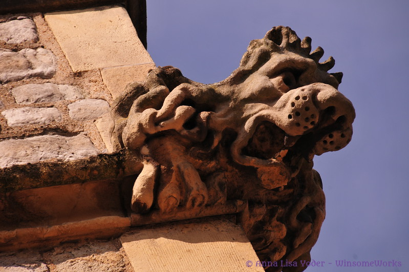 Gargoyle at the Tower of London