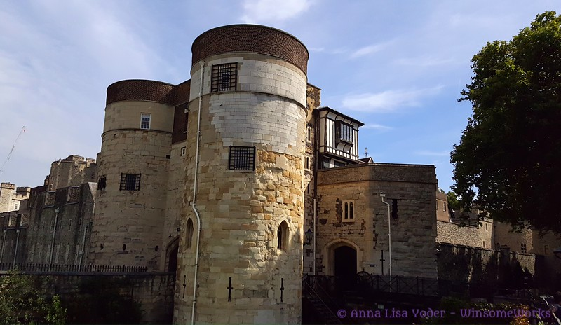 Older part of the Tower of London (needs I.D.)