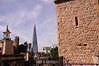 View of The Shard from Tower of London