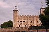 The White Tower from outside the walls - Tower of London