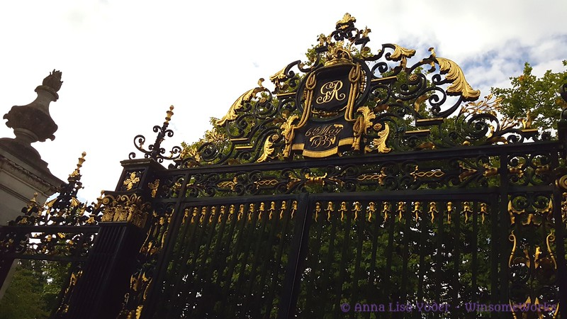 "Gate at Regent's Park ""6th of May, 1935"""