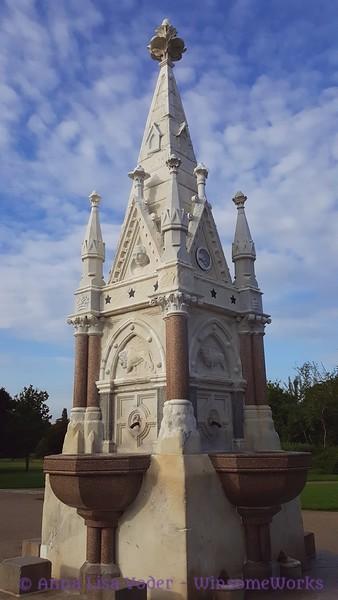 1869 Fountain donated by Sir Cowasjee Jehangir