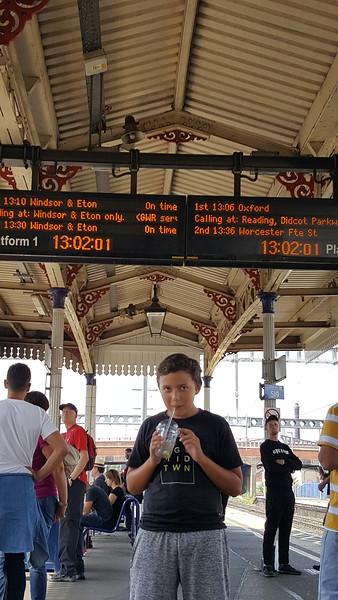Windsor & Eton train platform