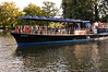Riverboat on the Thames -  Oxford  (here, the Thames is just a stream)