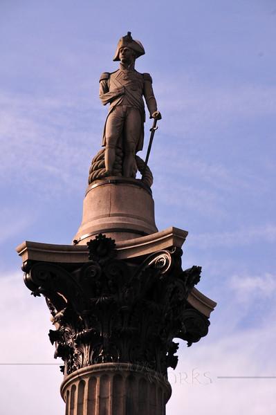 Nelson's Column - Trafalgar Sq., London