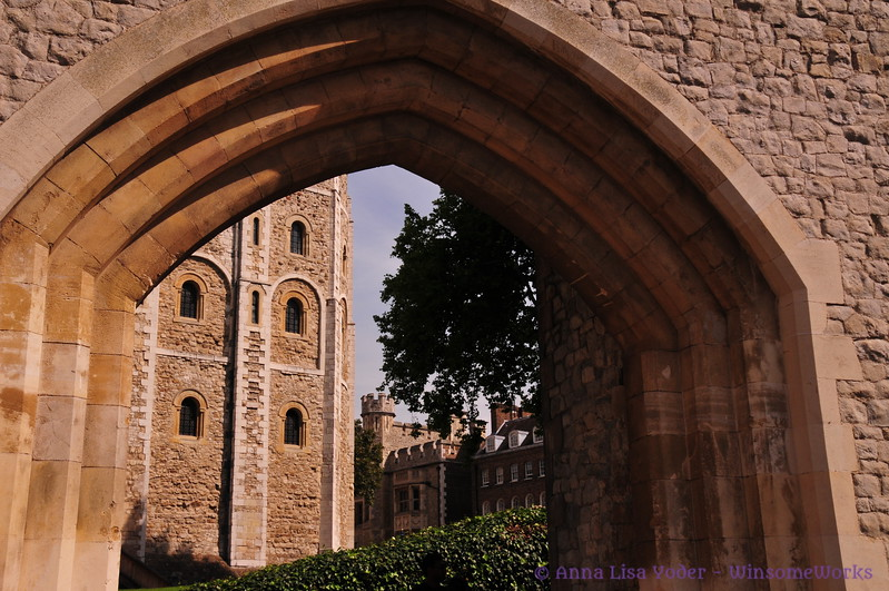 Archway at Tower of London