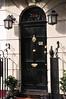 Sherlock Holmes' door - 221 B Baker St.