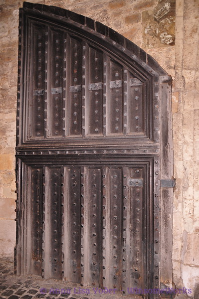 Door at the Tower of London