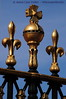 Ornaments on Buckingham Palace fence