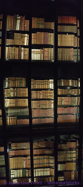 Antique books in climate control in London Library