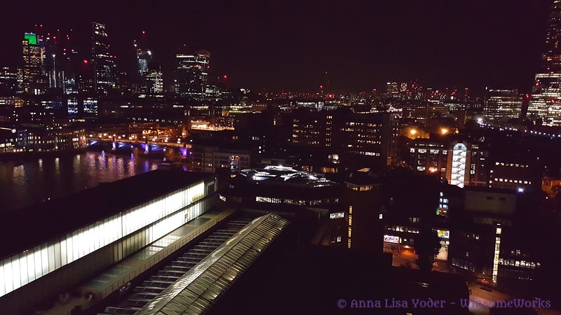 Night Scene across the Thames, from the Tate Modern - London