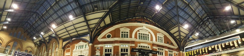 Liverpool Station - our favorite Tube station