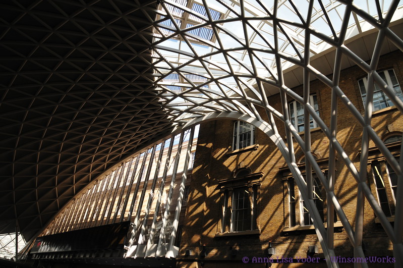 The new King's Cross station