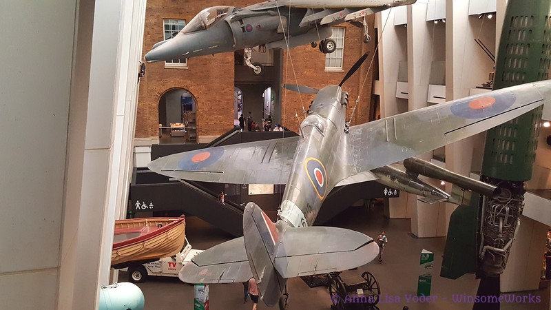 Planes in main hall - Imperial War Museum
