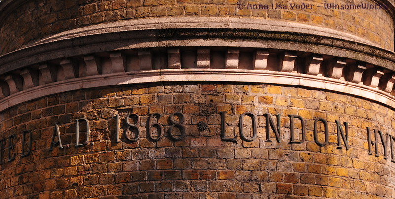 Part of Underground station near the Tower of London