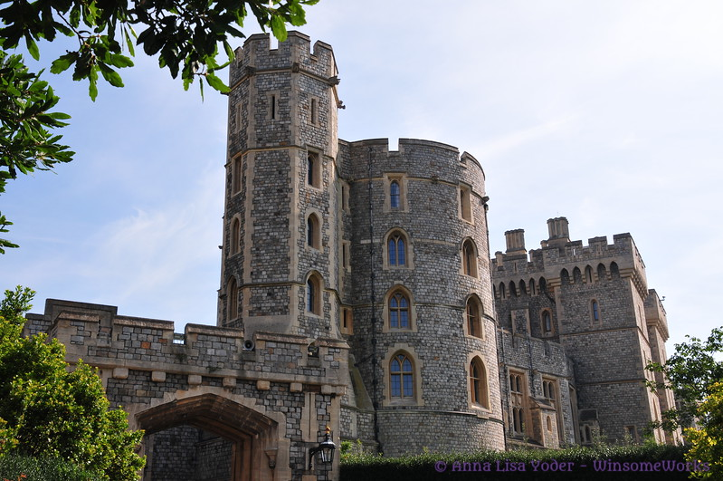 Oldest part of Windsor Castle