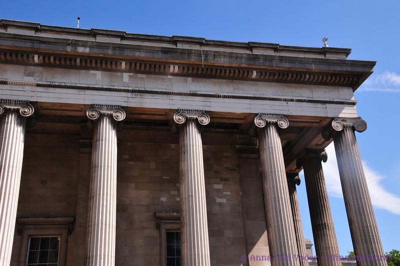 Corner of The British Museum