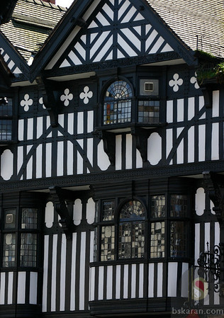 Photos of a beautiful wall city Chester : UK