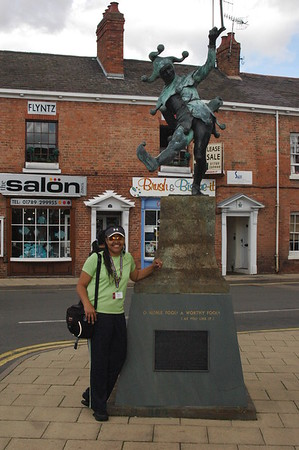 That afternoon, we went to Stratford Upon Avon, the birthplace of Shakespeare.