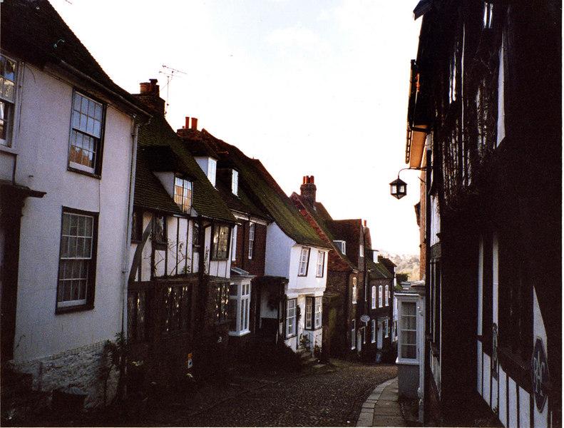 Mermaid Street, Rye, England