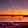 Sunrise at Oare Marshes<br /> Kent<br /> UK