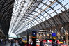 The newly rebuilt King's Cross Station