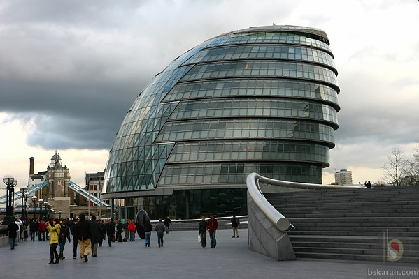 London city walk - More London