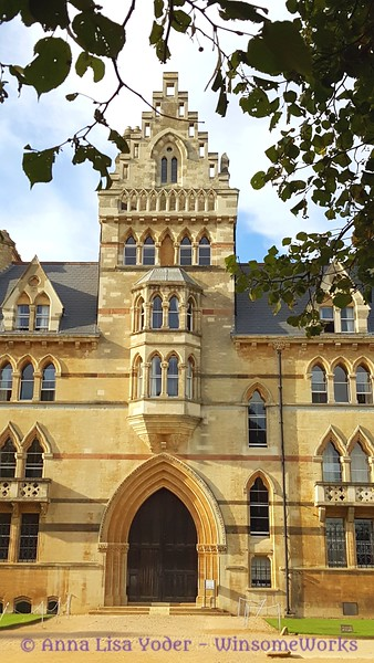 Part of Meadows Building, Christ Church College  - Oxford