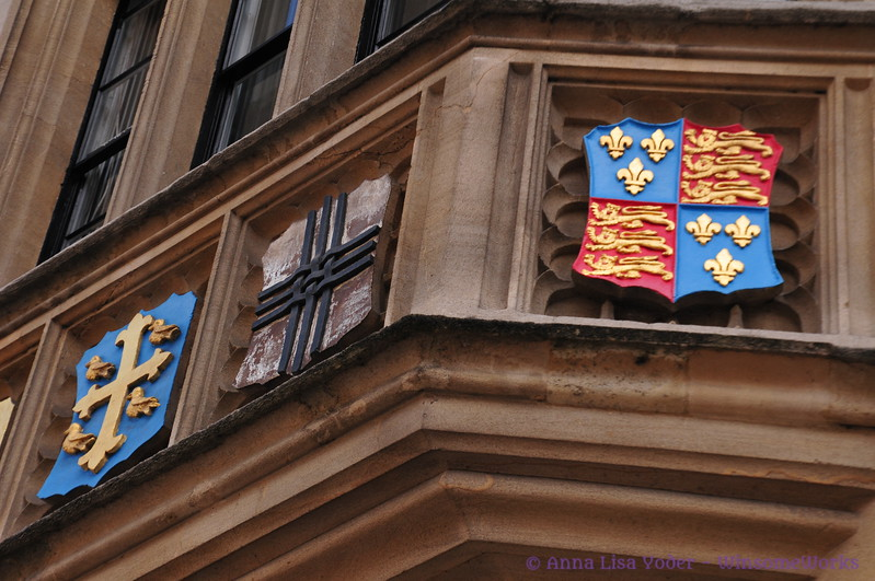College coats of arms - Oxford U. - London