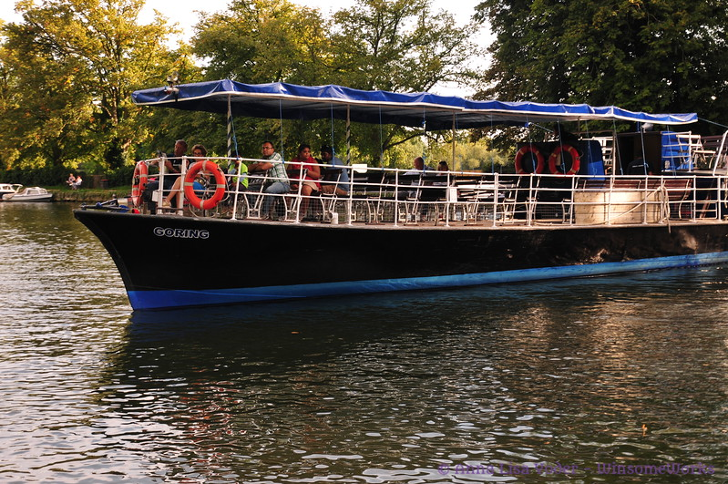 Riverboat on the Thames - Oxford