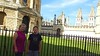 In front of Radcliffe's Camera - Oxford U.