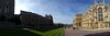 Windsor Castle Pano - church is on right