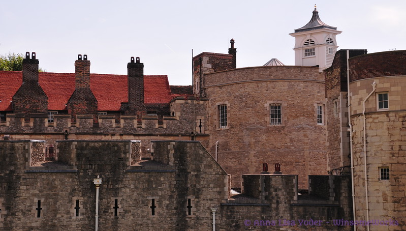 Tower of London walls - Pano