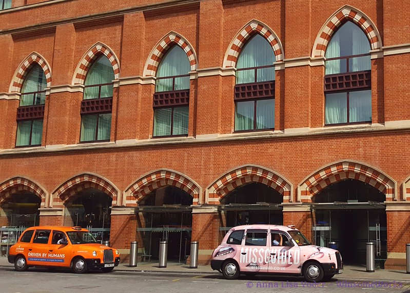 Taxis at St. Pancras International