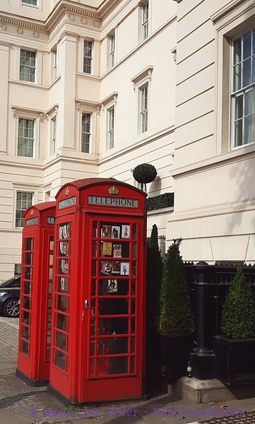 The famed phone booths