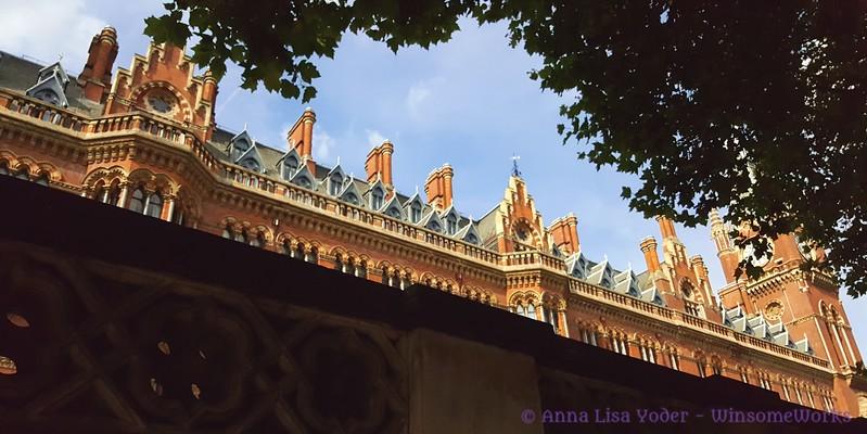 Part of St. Pancras station ( ? ) - London