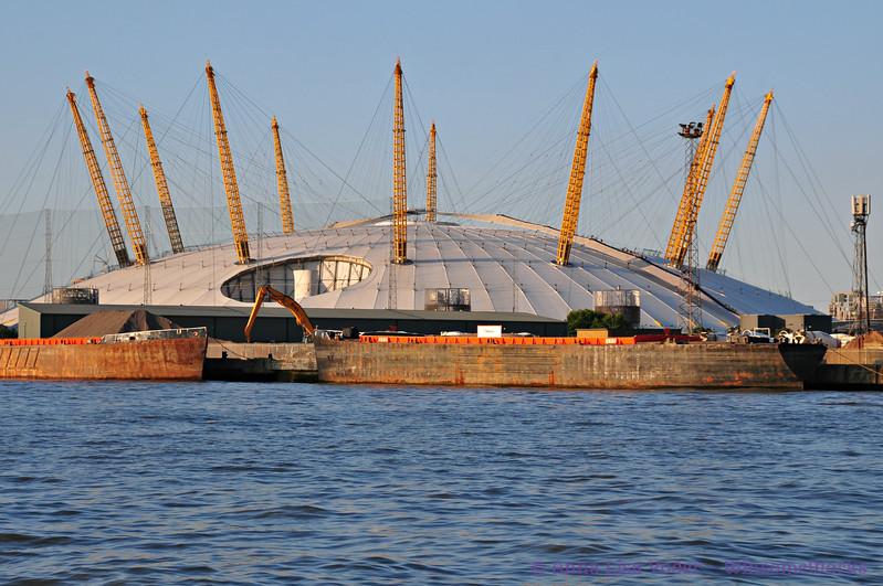 O2 Arena  - Greenwich Peninsula, London
