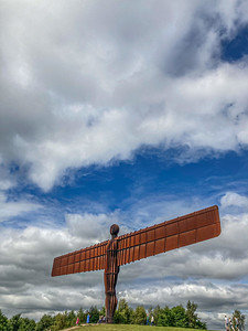 The Angel of the North ~ 1550
