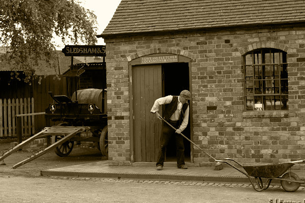 Victorian Town - Blists Hill.  life in a small industrial town during the 19th century.