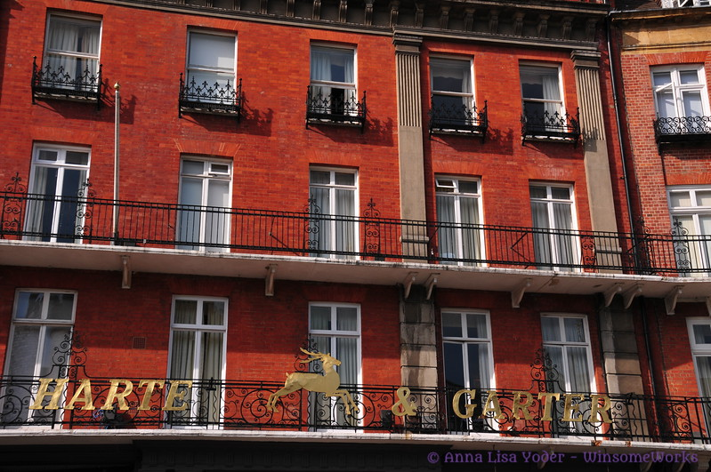 Detail of White Hart Hotel - across from Windsor Castle